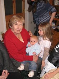 Samuel meets his Great Grandma