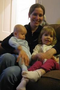 Sam, Karen and Maia