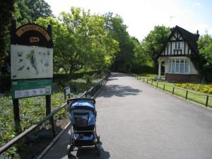Kesley park entrance