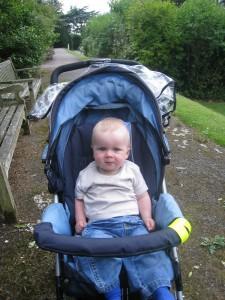 Sam in the park