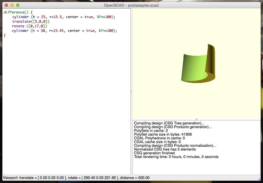 Describing the object 'in code'